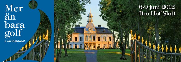 Träffa oss under Nordea Masters på Bro Hof Slott