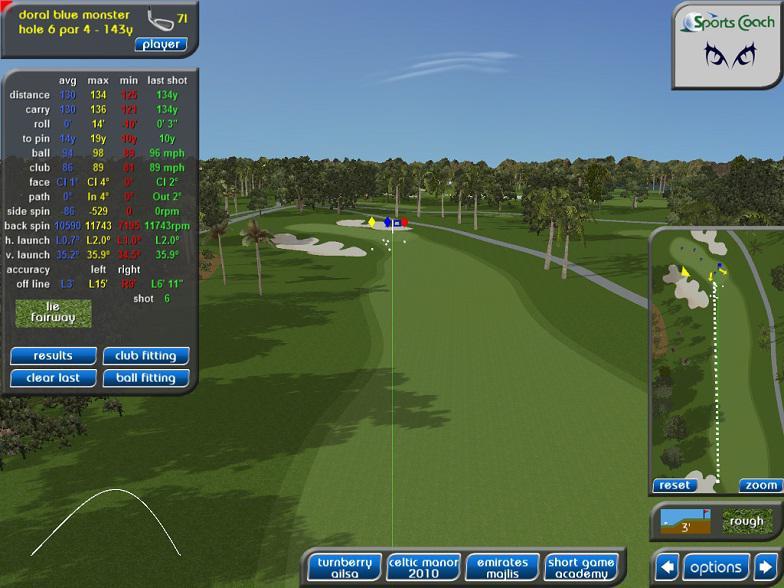 Begagnad Sports Coach Golfsimulator till salu