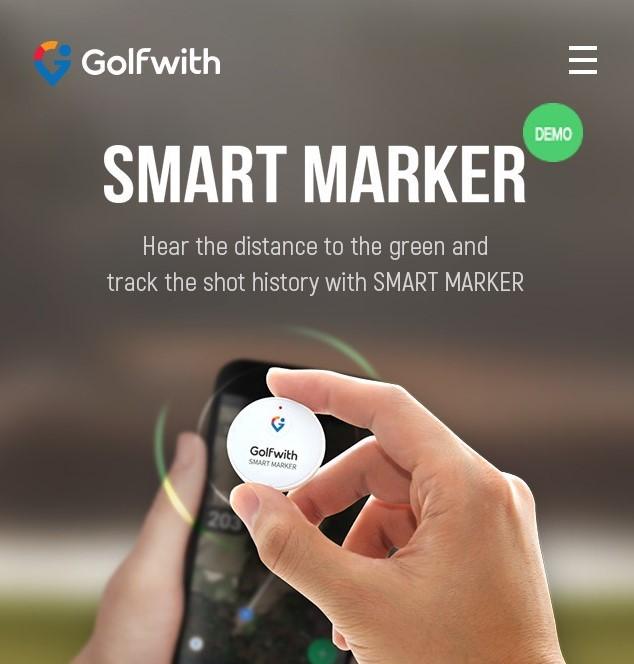 Golfwith Smart Marker nu i Sverige